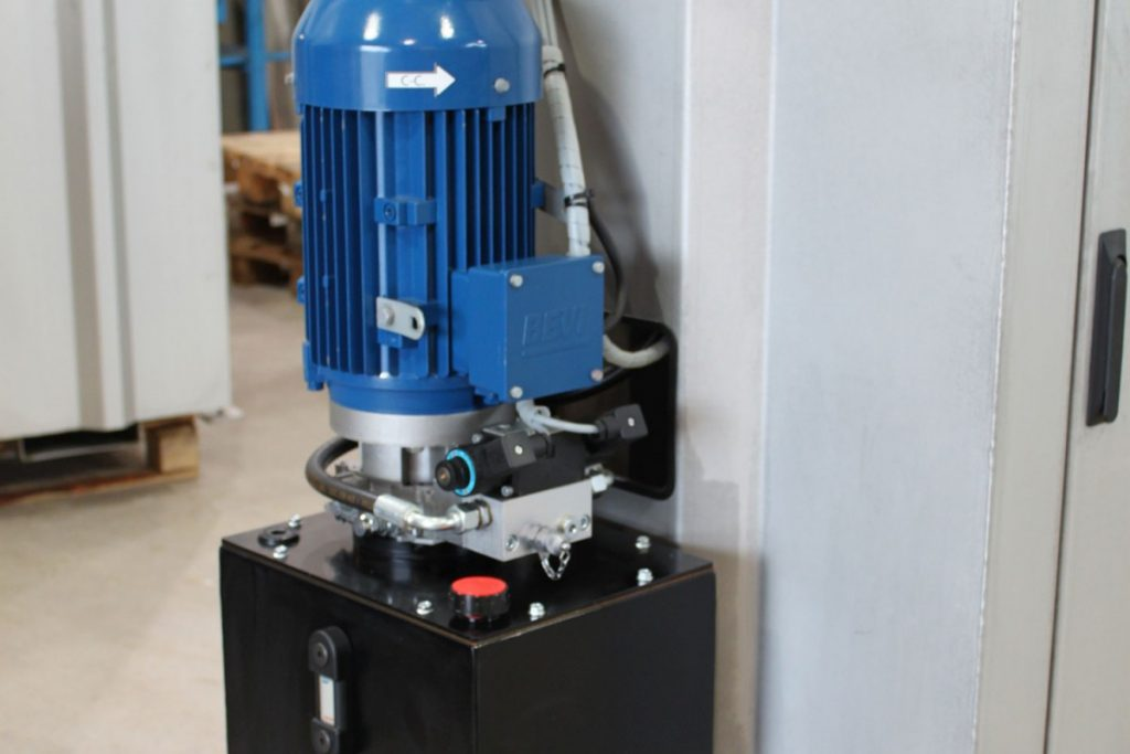 Drum, Can and Oilfilter Compactor -Detalj1