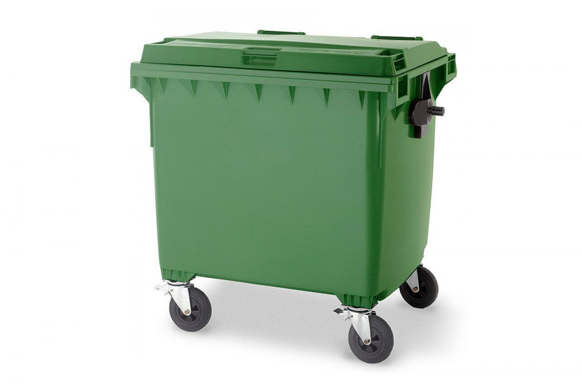 4-Wheel Waste Disposal Containers